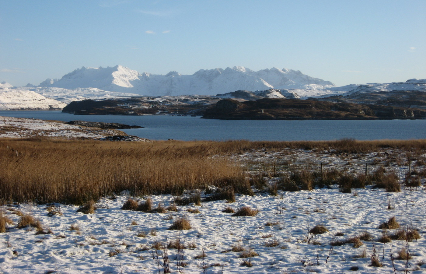 Winter in Skye and Lochalsh