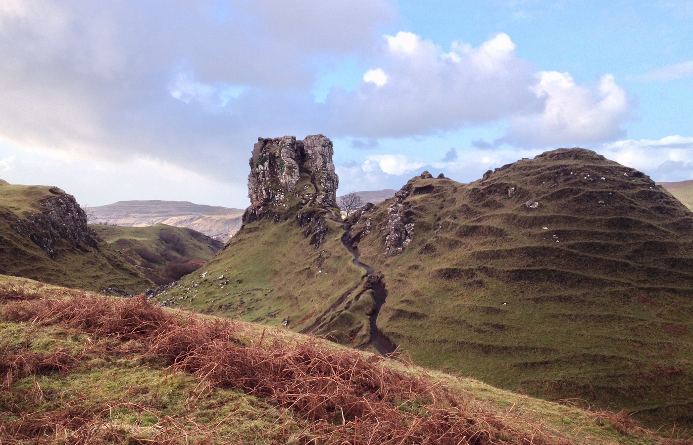 Fairy Glen near Uig Isle of Skye