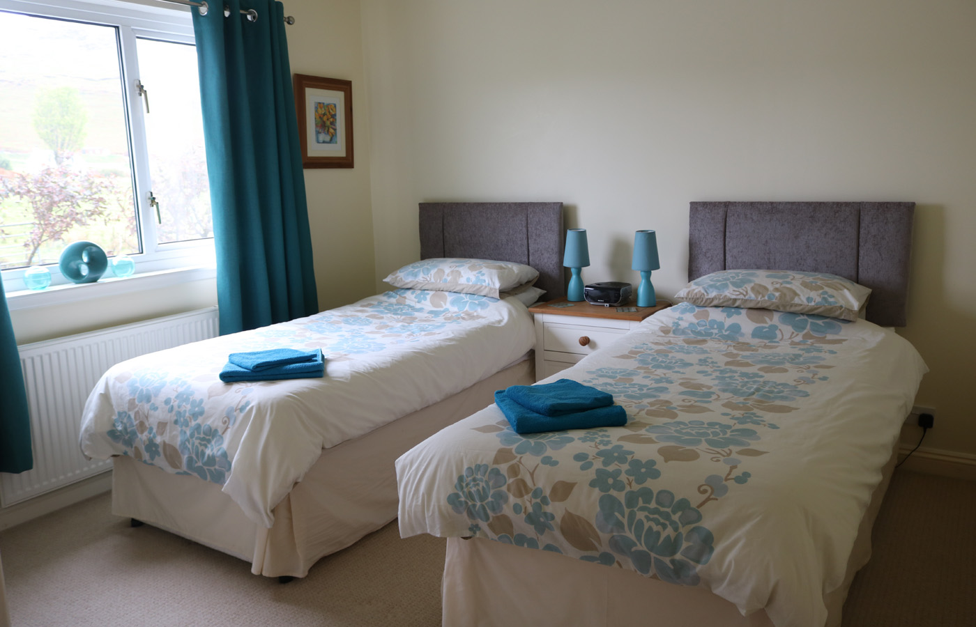 Bedroom at Four Winds Cottage, Isle of Skye