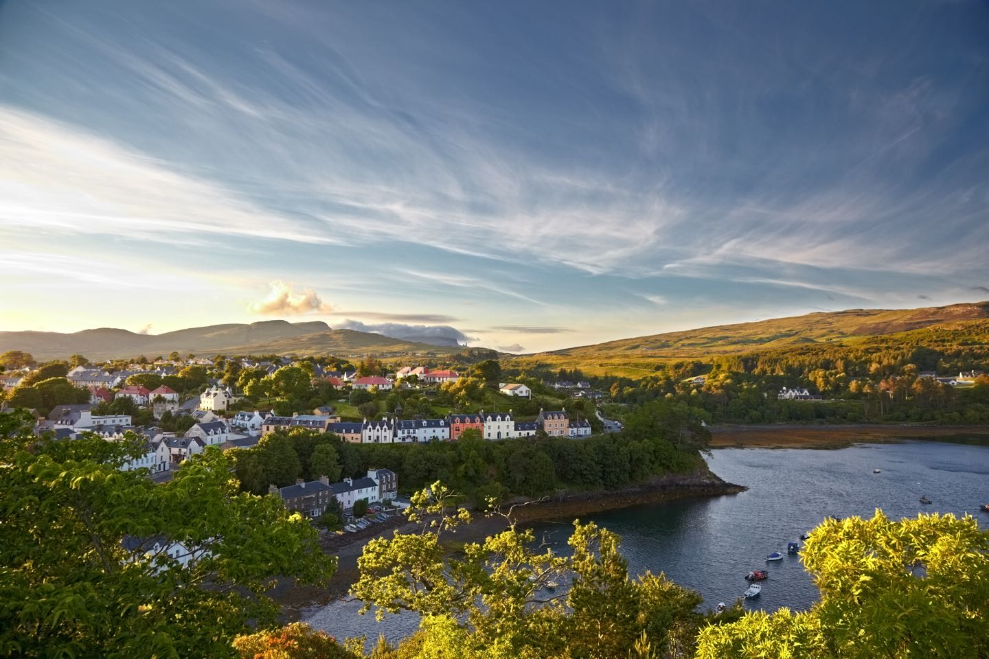 Portree or Port an Righ was previously called Kiltaraglen