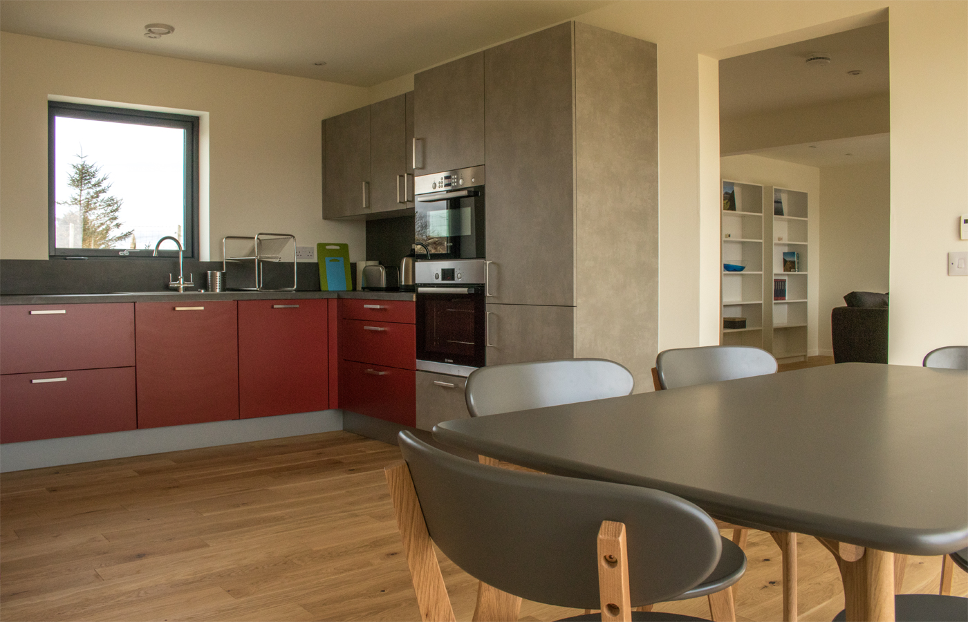 Kitchen at Taigh Uilleim self catering holiday home, Isle of Skye