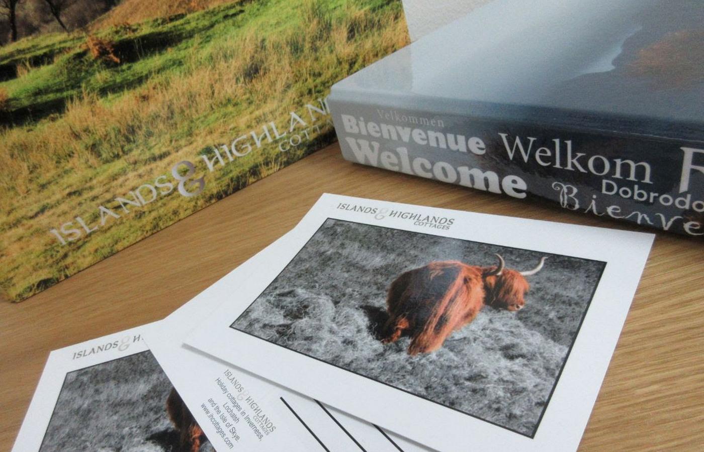 Islands and highlands cottages welcome folders